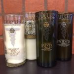 img_0220 Wine Bottle Candle - Caduceus Cellars
