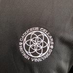 IMG_9474 Caduceus Embroidered Polo Tee- Black - Caduceus Cellars