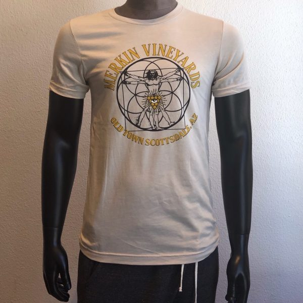 Mens Merkin Vineyards Old Town Scottsdale t-shirt