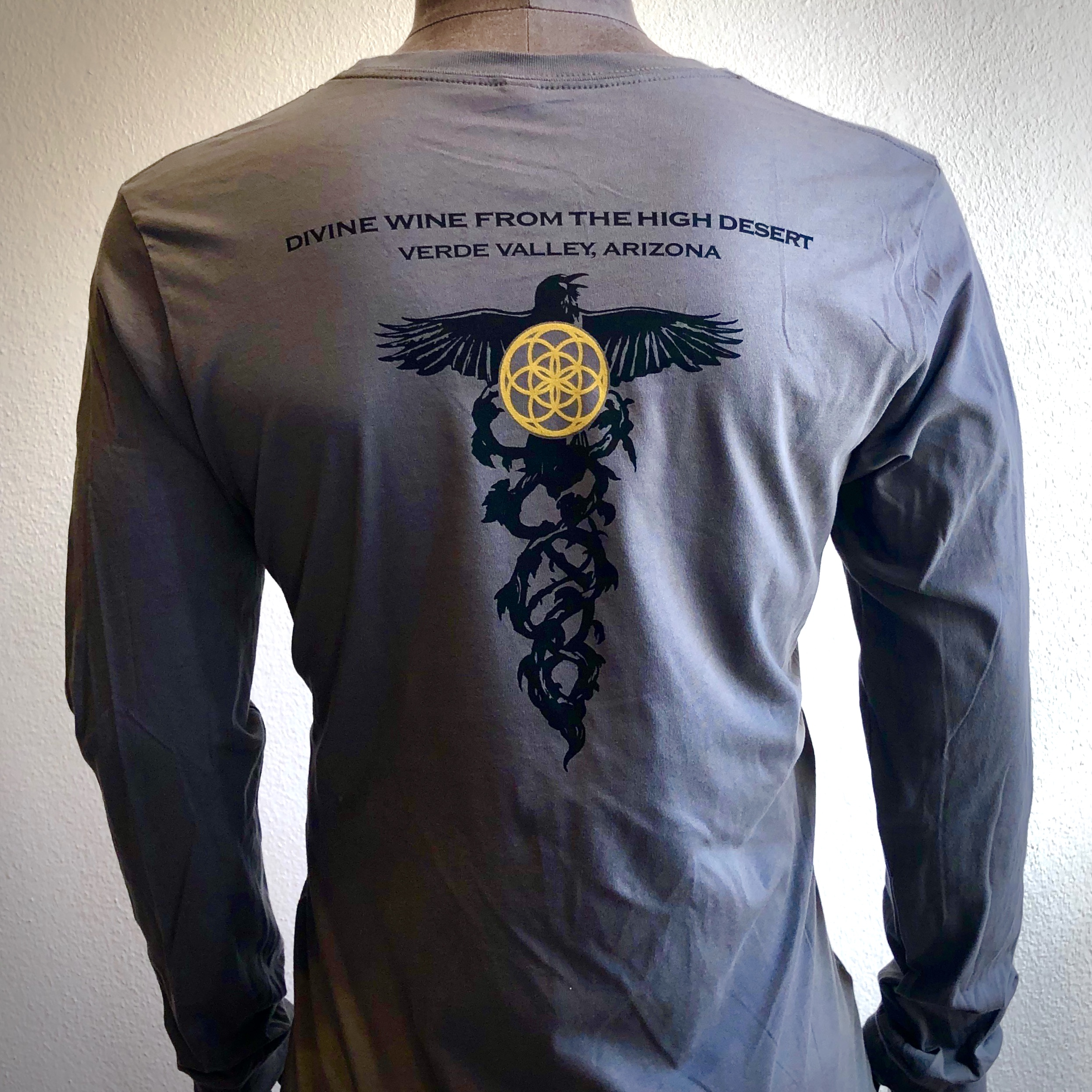 Men's CADUCEUS Long Sleeve Shirt