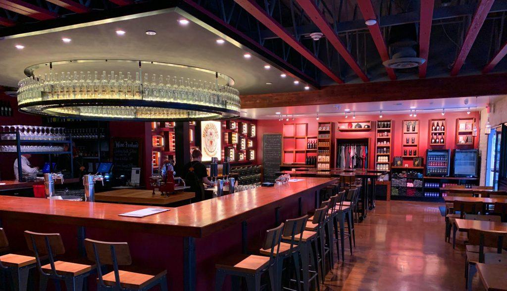 Scottsdale Tasting room bar