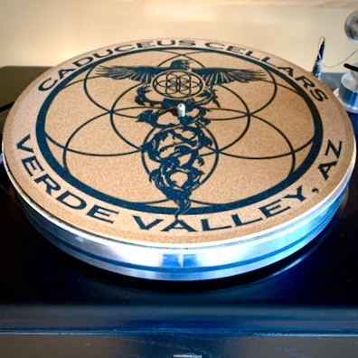 Caduceus Cellars Turntable Slipmat