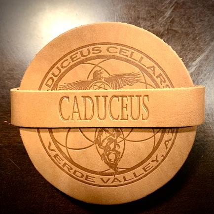 Caduceus Coaster Set