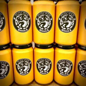 PUSCIFER – Queen B – Sparkling MEAD (4pk)