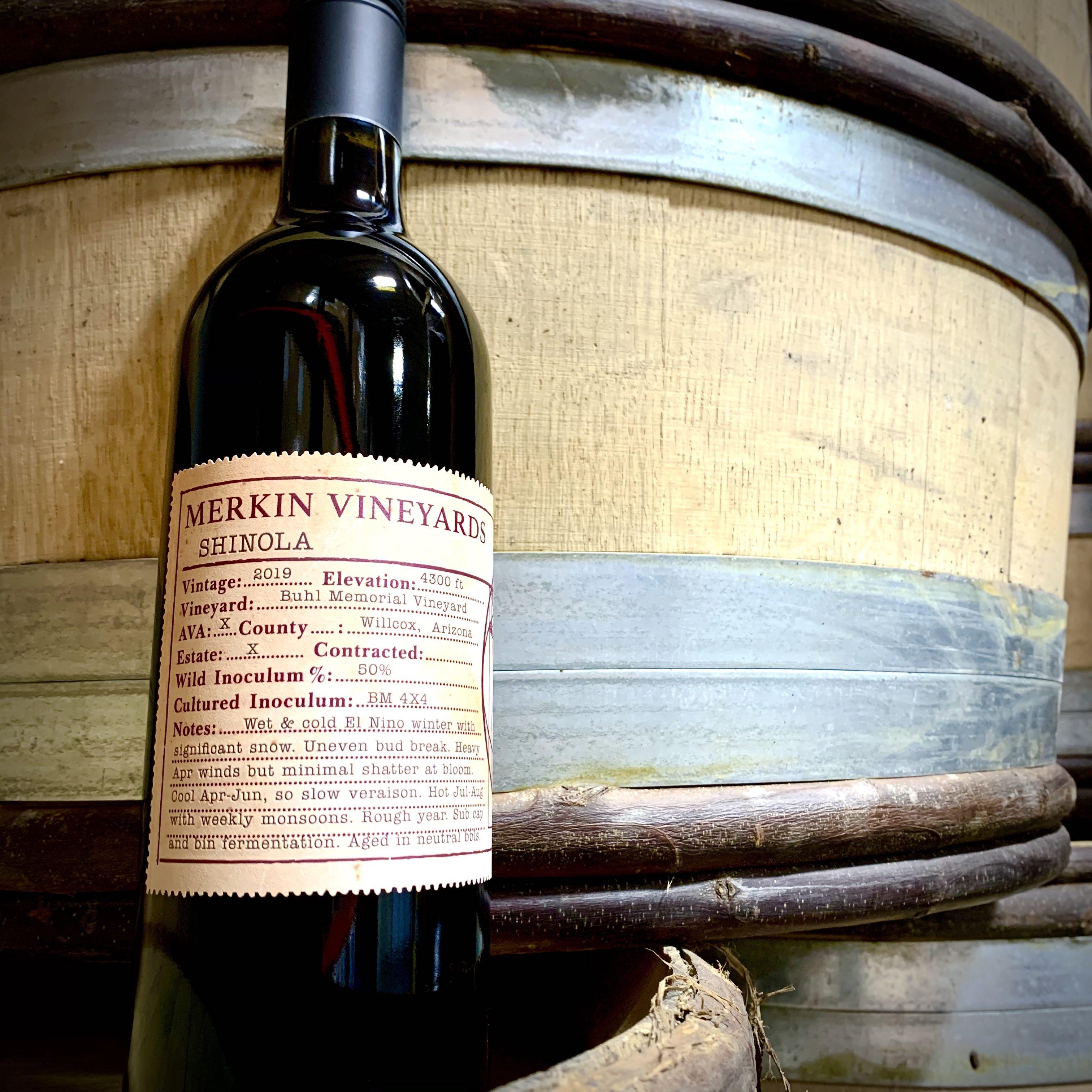 2019 Merkin Vineyards SHINOLA